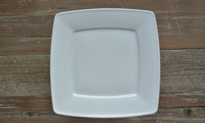 Bord vierkant Katja wit porselein