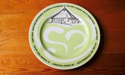 Bord voor Gemeente Alkmaar herinnering Don Bosco Kerk Alkmaar