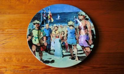 Strandopgang Egmond aan zee beeldende kunstenaar Rob Houdijk Alkmaar