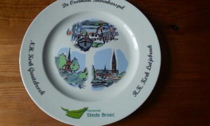 Bord voor gemeente Stede Broec